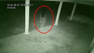Girl's Hostel Corridor Cctv Camera Caught Chilling Video Of Ghost!! Paranormal Mystery Caught!!