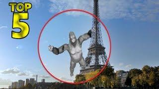 5 REAL ALIVE KING KONG CAUGHT ON CAMERA & SPOTTED IN REAL LIFE!