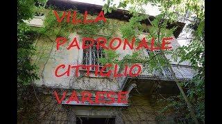 Villa Padronale Cittiglio Varese