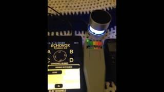 Echovox session from yesterday 10/19/14
