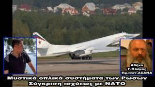 Κώδικας Μυστηρίων (16-9-2016):Άγνωστα όπλα Ρώσων ,Η Ελληνίδα μητέρα του Πούτιν, Κοσμοσφαίρες!