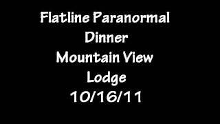 Flatline Paranormal- Mountain View Lodge- Child response
