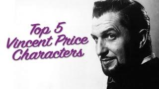 Vincent Price Top 5 With HorrorGal !