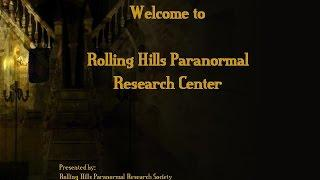 2007 presentation of Rolling Hills Paranormal Research Society