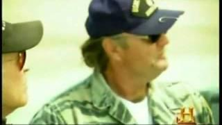 Men in Black filmed by UFO Hunters Crew at  Dugway Airfield