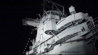 Ghost Caught on Camera at USS Yorktown
