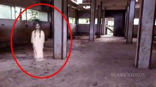 Mysterious Girl Ghost Like Creatures Spotted & Caught On CCTV Camera