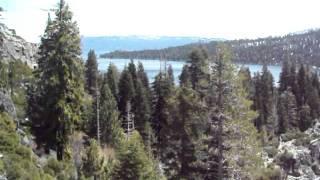Emerald Bay Part 2 Descent Along Eagle Falls