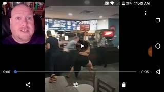 Roger The Redneck Reacts To McDonald's Fighting