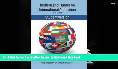 PDF [FREE] DOWNLOAD  Redfern   Hunter on International Arbitration [DOWNLOAD] ONLINE