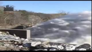 dam spillway video found on internet must watch | ghost hunting youtube