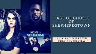 Nick Groff and Elizabeth Saint of Ghosts of Shepherdstown: Public Talk