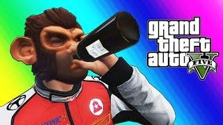 GTA 5 Online Funny Moments - Basketball, Social Experiment, & Pranks!