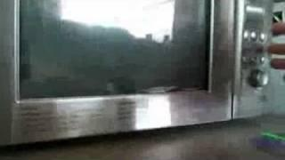 Hauntedsunshinegirl: My Microwave is way cooler than yours. Mine destroys Justin Bieber CD's