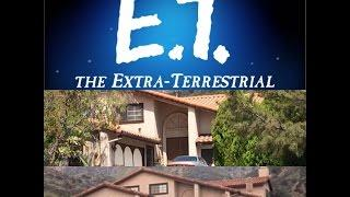 E.T. The Extra Terrestrial Filming Location Then & Now Elliott's House