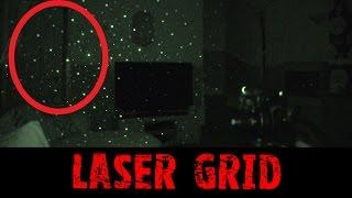 Laser Grid - Real Paranormal Activity Part 34.1