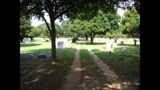Alington Cemetery, Texas. Echovox and EVP session