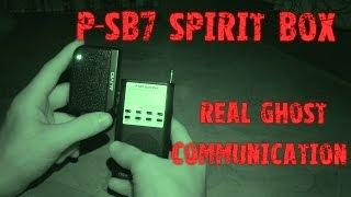 Real Spirit Communication | Ghost Voices | P-SB7 Spirit Box