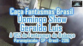 A VOZ DO FANTASMA DO BALANÇO - Caça Fantasmas Brasil - #861