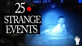 25 Mysterious and Strange Events Caught on Tape Mix