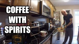 Morning Cofee with Spirits. Wonder Box, Minibox & Vortex - Communication