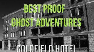 BEST PROOF OF GHOST ADVENTURES | GOLDFIELD HOTEL (HD)