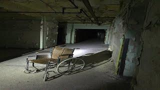 Abandoned PSYCHIATRIC INSANE ASYLUM  with GHOSTS