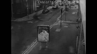 Real Ghost Sightings On Road At Midnight   Real Ghost Shadow Caught On Cctv  Horror Video Collection