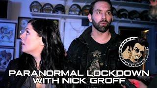 JoBlo.com Joins PARANORMAL LOCKDOWN with Investigator Nick Groff & Katrina Weidman