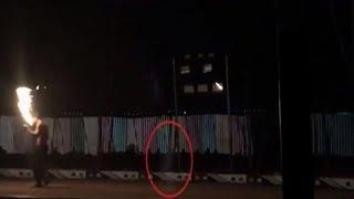Ghost Caught On Tape | Ghost Caught On Camera From Circus Tent | Real Ghost Sighting