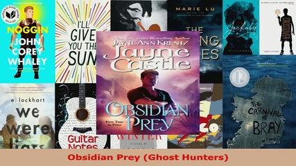 Download  Obsidian Prey Ghost Hunters Ebook Online