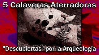 "5 calaveras aterradoras ""descubiertas"" por la arqueología - Proyecto Paranormal México"