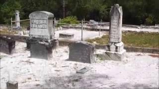 Haunted Devils Chair at Lake Helen Cemetery Cassadaga Florida