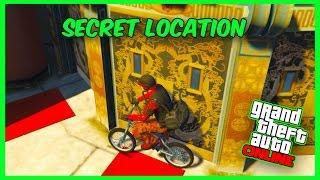GTA 5 Online Glitch - GTA 5 Hidden Place & Secret Location! (After Patch 1.34)