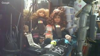 Steves-Haunted-Home: 2 more Possible Haunted Dolls From Simon James Box, + overnight Stream