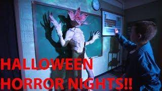 Halloween Horror Nights - I SCREAMED SO MUCH