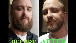 IVE SHAVED MY BEARD OFF! and a conor mcgregor impression gone wrong!