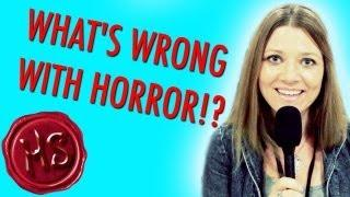 WHAT'S WRONG WITH HORROR!? (HauntingSeason at Crypticon!)