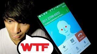 Llamando al Numero Maldito, ESPÍRITU 011-27000322 ¡Algo Macabro me responde!