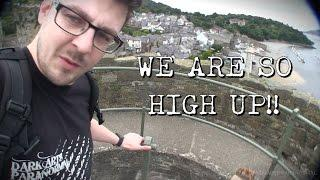 Haunted Conwy Castle - THIS IS SOOO HIGH! + UNEXPECTED EVP!!!