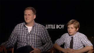 Michael Rapaport & Jakob Salvati Interview: Little Boy