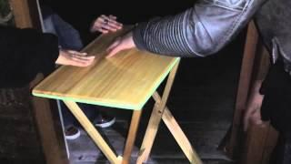 Extreme Table Tilting at Landguard Fort