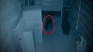 Unknown Ghost Shadow Caught on Cctv Camera !! Real Ghost Scary Videos