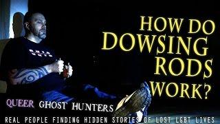 Do DOWSING RODS work? Watch and Tell Us! Queer Ghost Hunters Pre-Series Video #7