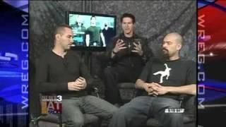 Ghost Adventures Crew Paranormal Investigators - GAC Media Tour - Wreg.com