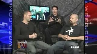 Ghost Adventures Crew Paranormal Investigators - GAC Media Tour - Wreg.com
