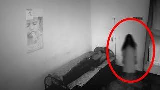 Real Ghost With A Human Caught On Cctv Camera - Real Ghost Videos  2017 | Paranormal