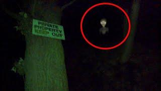 Ghost or Alien Strange Creature Caught on Cctv Camera, Real Scary Videos