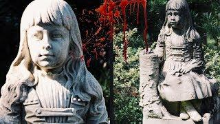 Haunted Statue Cries Blood.. | Ghost of Little Gracie Watson