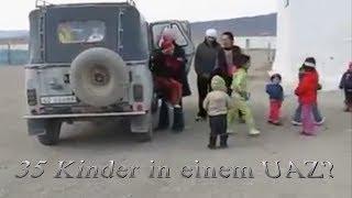 Hoax? - 35 Kinder im UAZ